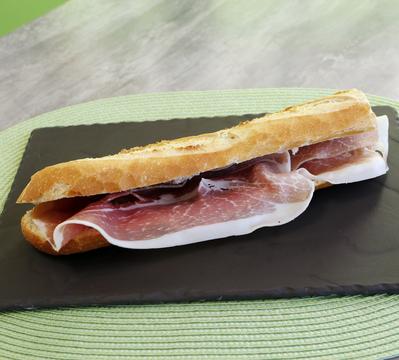 Sandwich jambon italien