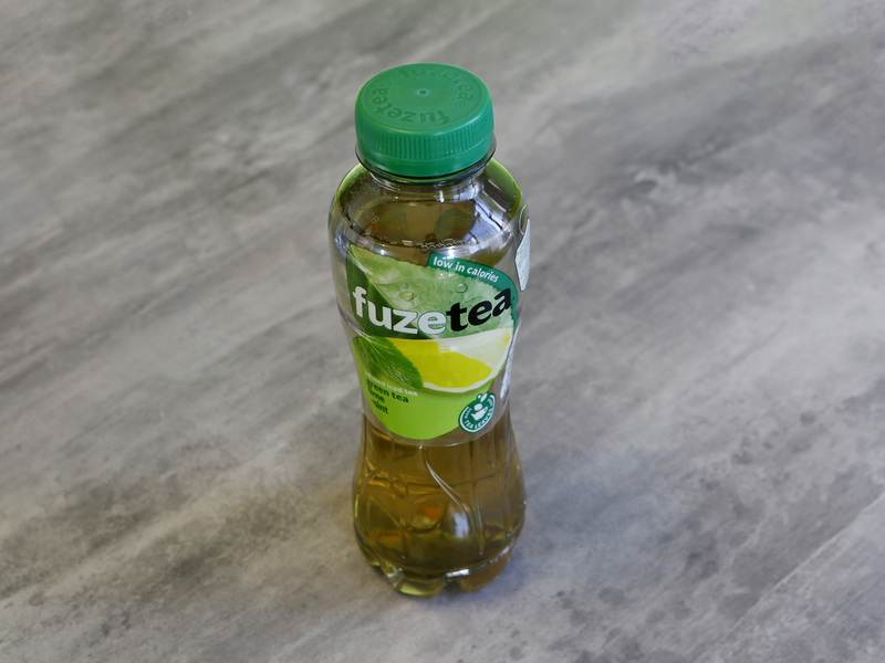 Fuze tea green citron menthe
