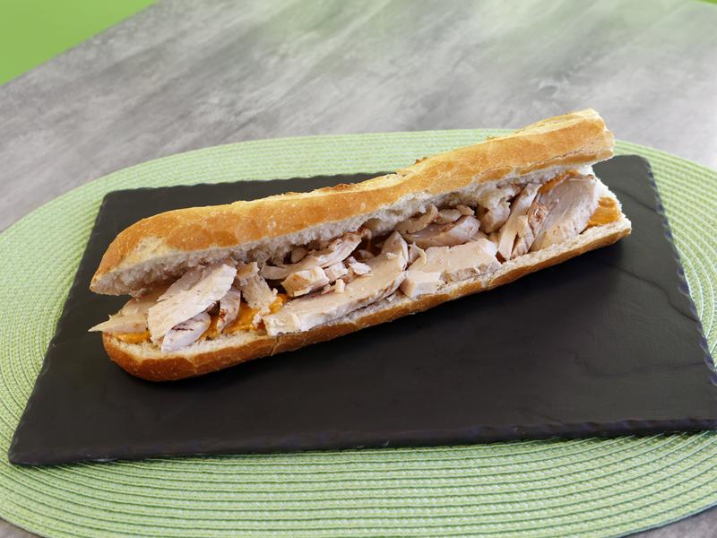 Sandwich poulet andalouse