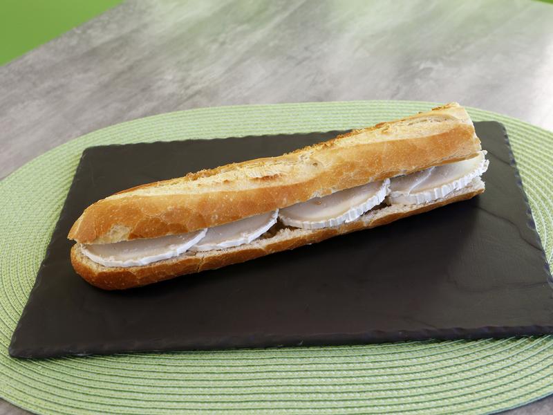 Sandwich fromage de chèvre